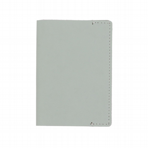 Recycled Leather - Passport Holder - Mint